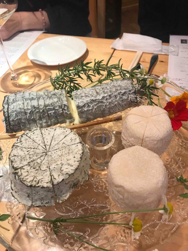 シェーブル(山羊乳チーズ)